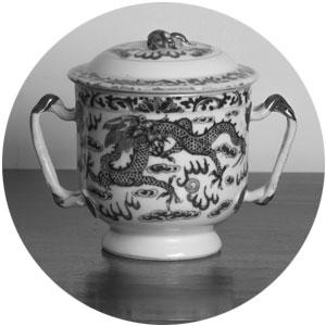 photo of ancient ceramic vessel